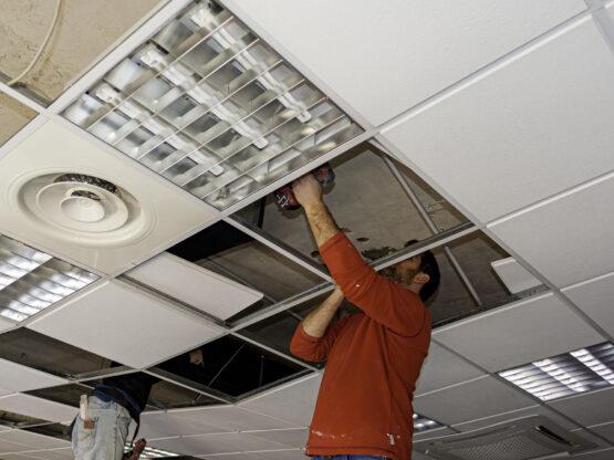 suspended ceiling repairs ri